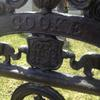 Cooke Family Plot, the black wrought iron is beautiful.