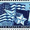 Texas Statehood 1945 Stamp Issue.