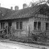 Bakery building behind the Lutz family house (on left) — at Schoenaich Germany.
